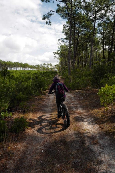 Location de vélo - évolution 2 Lacanau e-bike school 2