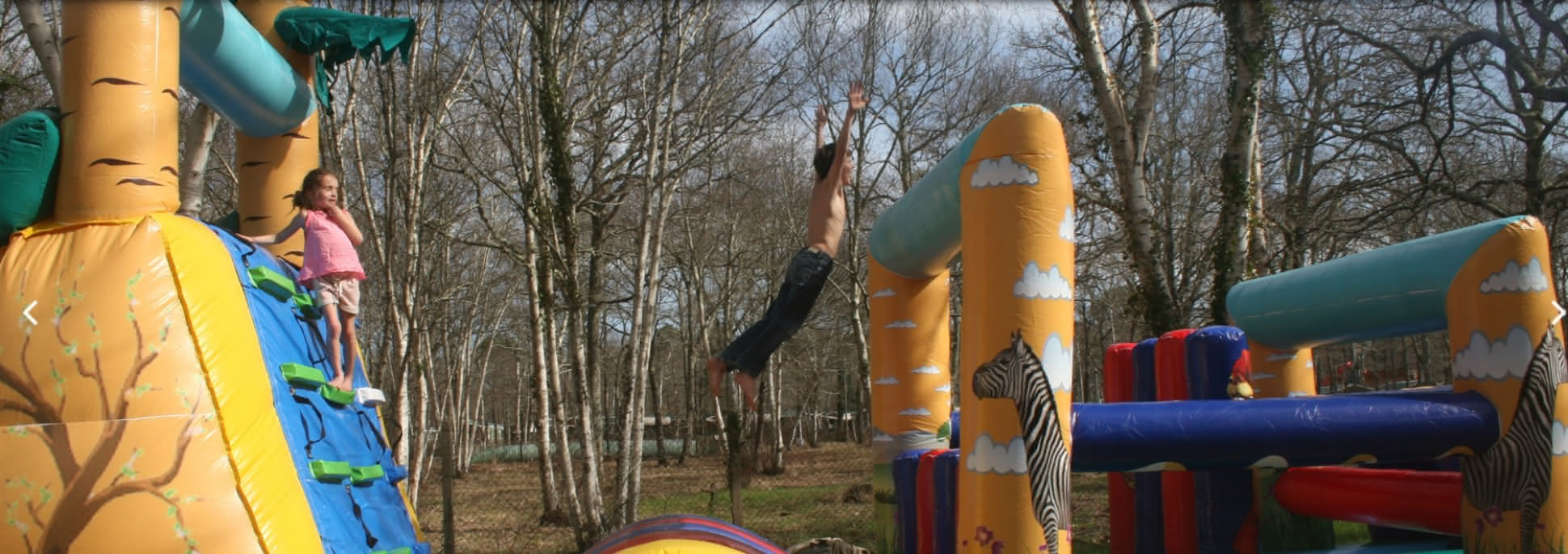 Parcours Gonflables & Trampoline