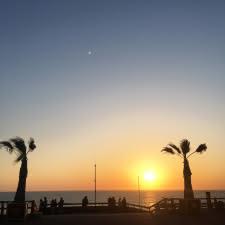 Coucher-de-soleil-Lacanau