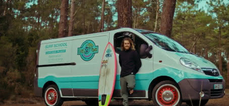 Tombottom Surf Truck