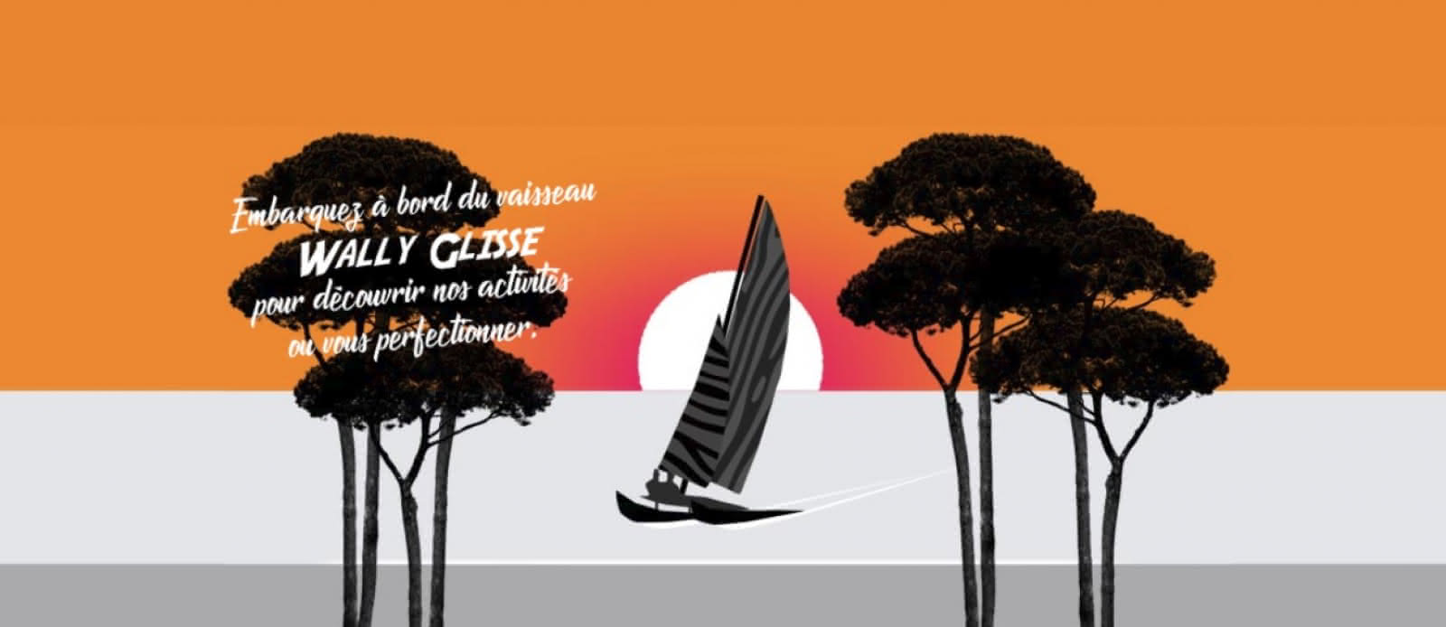 Wally Glisse - Ecole de voile 1