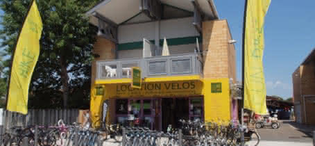 LOCATION DE VELOS FUN BIKE CARCANS MAUBUISSON