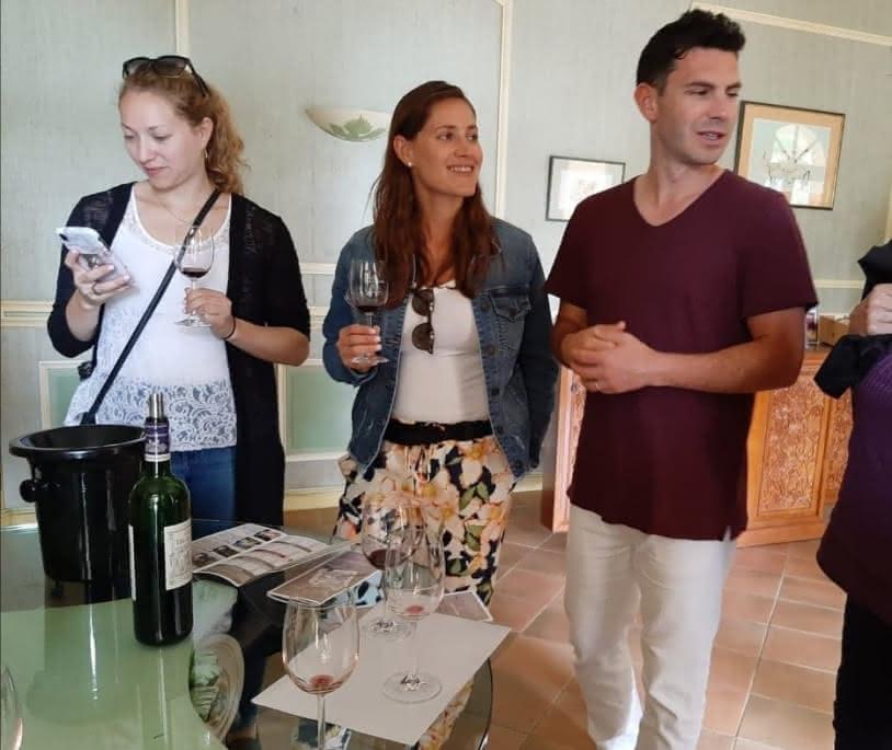 visite propriété wine tour