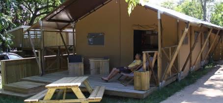 Camping-Lodging du lac- Lacanau-cabatente2
