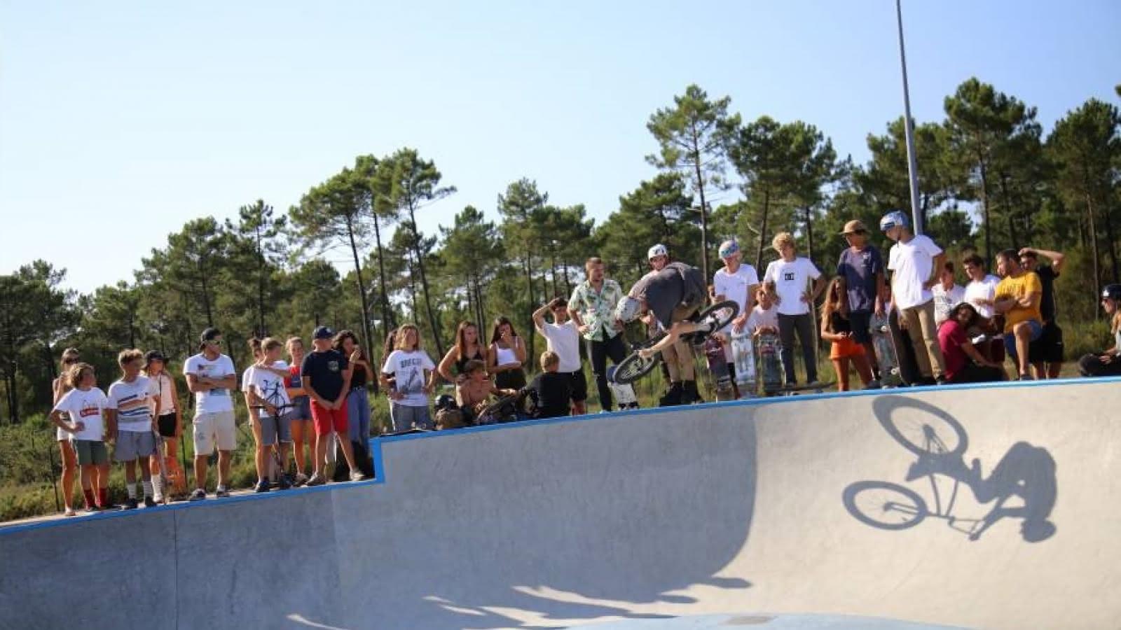 Skatepark Lacanau ville3