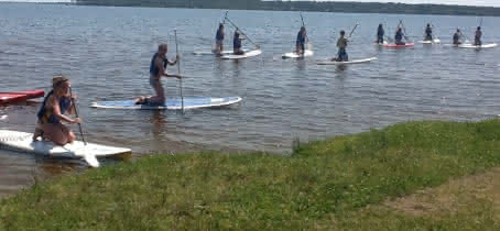 Activité Nautique Cris Loisirs Stand Up Kayak Lacanau 4