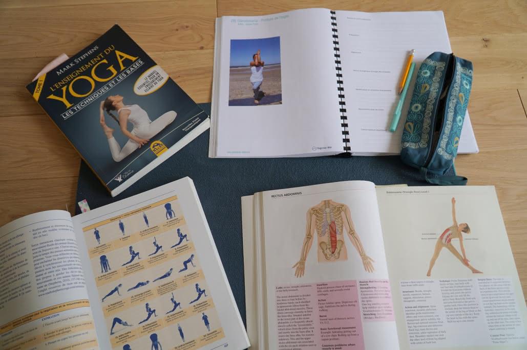 Yoga sur mer - Formation