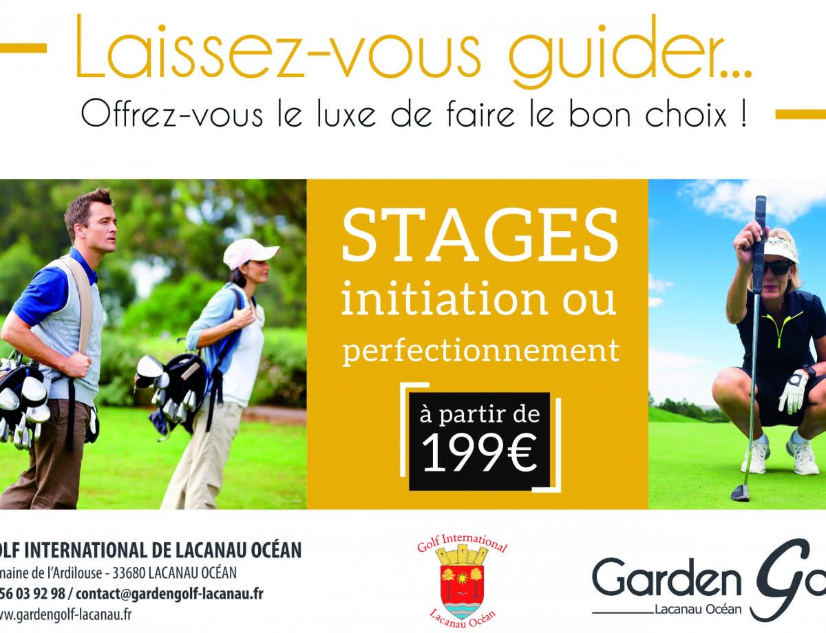 Garden Golf Lacanau Océan stage