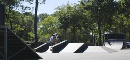 Hourtin Port-Skatepark © Médoc Atlantique